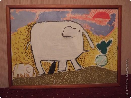 Наш любимый задумчивый слон.