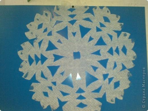 Снежинка Работа ученицы 4 класса Пантюшиной Анны lubab1959 фото 1