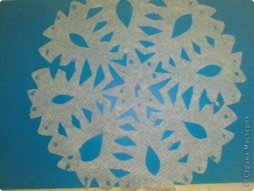 Снежинка Работа ученицы 4 класса Пантюшиной Анны lubab1959 фото 2