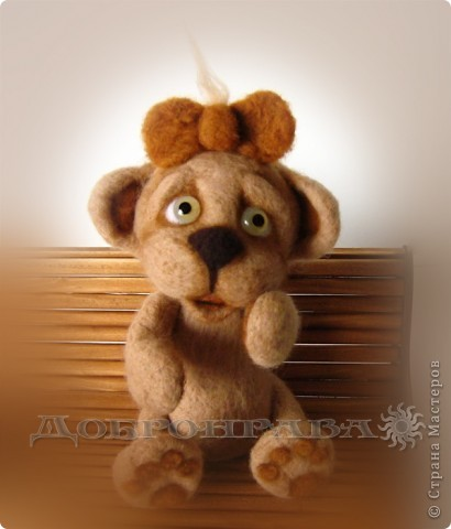 То ли мишка, то ли обезъянка без хвостика по имени Буся  фото 2