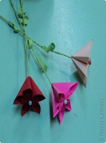 Летний букет (коллективная работа) Бисеролетение. фото 4