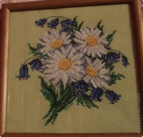 Букет полевых цветов. фото 1