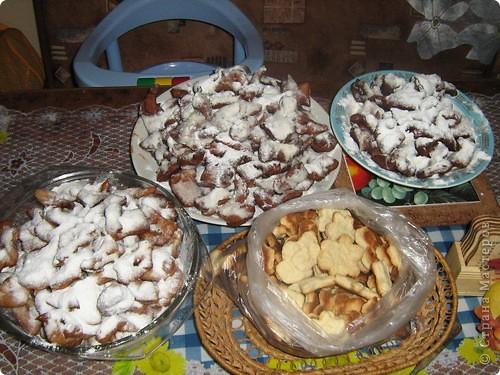 Хворост и печенье из рассола фото 1