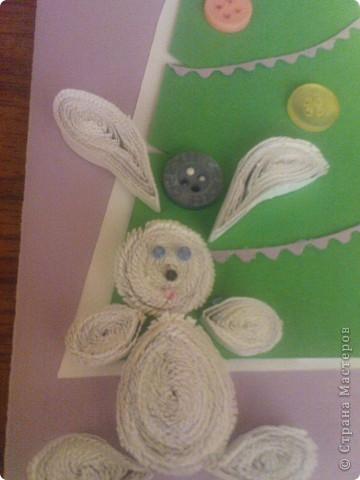 первая была сделана с зайцем. за ёлочку огромное спасибо k.aktus http://stranamasterov.ru/node/120604 за зайца Валерия Мехренгина  http://stranamasterov.ru/node/120595?tid=311 фото 7