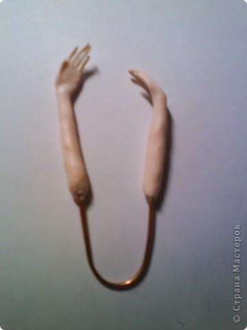 Кукла изготовлена из материала ФИМО. Рост куклы25 см. фото 6