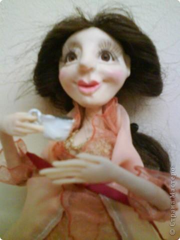 Кукла изготовлена из материала ФИМО. Рост куклы25 см. фото 12