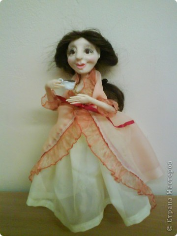 Кукла изготовлена из материала ФИМО. Рост куклы25 см. фото 11