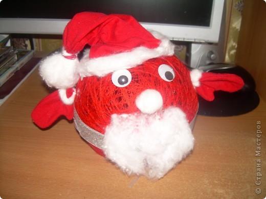 Дед Мороз спешит с подарками фото 2