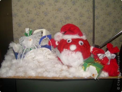 Дед Мороз спешит с подарками фото 1