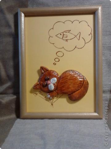 Рыжик) пока что единственный котик в рамочке) фото 1