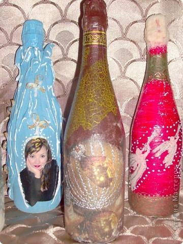 У меня теперь тоже есть Новогодние бутылочки!!! фото 4