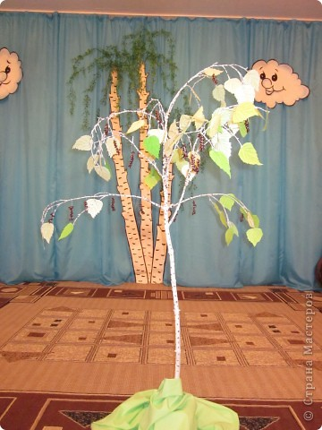Русская березка с сережками фото 1