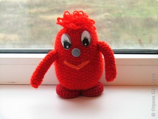 Красное чудовище, ужасное, но симпатичное)))))))