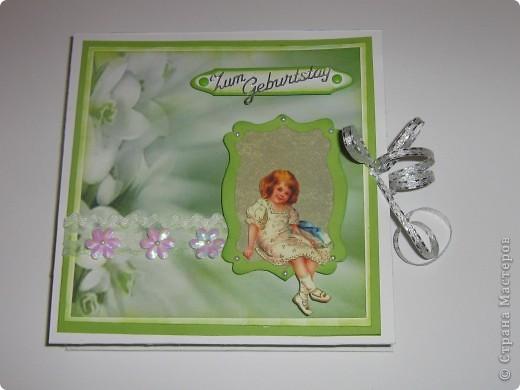 Институтской подруге на юбилей попробовала сделать коробочку по МК Pypsik http://stranamasterov.ru/node/94427?c=favorite_b. Крышка с открыткой. фото 1