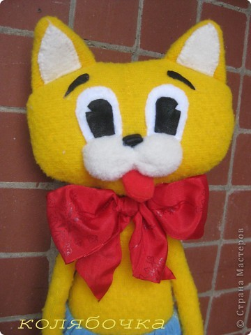 """С самого детства мечтала иметь кота-Леопольда.Наконец-то моя мечта сбылась.Весь вечер сегодня """"игралась"""" с новой игрушкой,результаты ниже фото 2"""