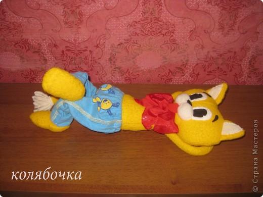 """С самого детства мечтала иметь кота-Леопольда.Наконец-то моя мечта сбылась.Весь вечер сегодня """"игралась"""" с новой игрушкой,результаты ниже фото 8"""