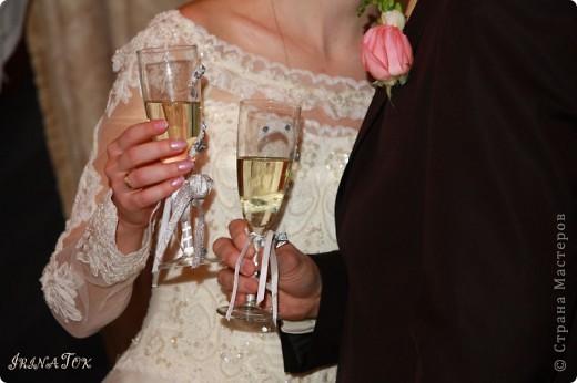 Свадебные бокалы и не только фото 5