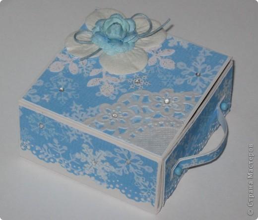 Сделала парочку коробочек для небольших новогодних подарочков и останавливаться на достигнутом не собираюсь -)))) фото 4