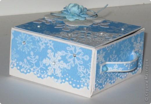 Сделала парочку коробочек для небольших новогодних подарочков и останавливаться на достигнутом не собираюсь -)))) фото 5