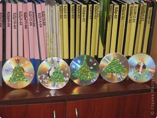 Поздравительные открытки на дисках фото 1