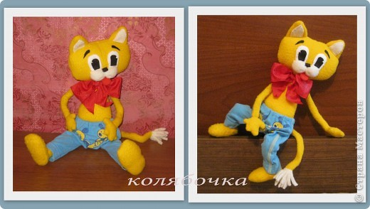 """С самого детства мечтала иметь кота-Леопольда.Наконец-то моя мечта сбылась.Весь вечер сегодня """"игралась"""" с новой игрушкой,результаты ниже фото 7"""