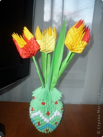Тюльпаны, которые не вянут. Прекрасный подарок!