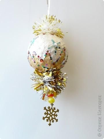 Новогодний шарик фото 1