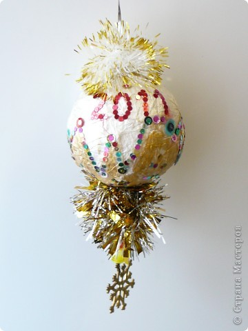 Новогодний шарик фото 2