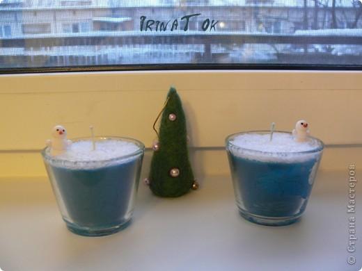 Новогодние свечи фото 2
