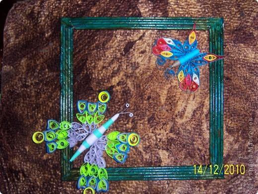 вот такая рамочка с бабочками                           фото 1