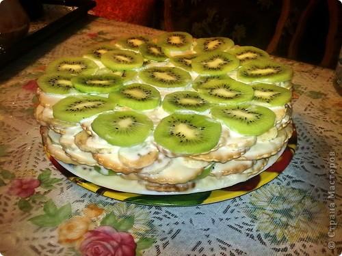 Фруктовый торт фото 2