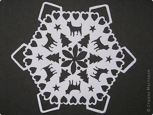 2011 год-год Кота. Поэтому и снежинка с котами. фото 2