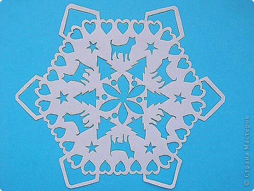 2011 год-год Кота. Поэтому и снежинка с котами. фото 1