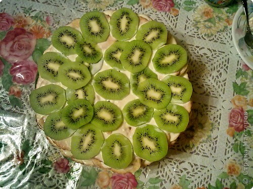 Фруктовый торт фото 1