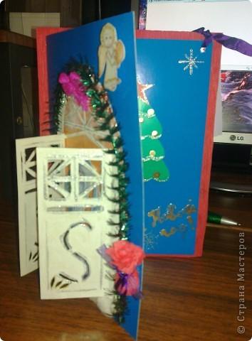 Объемная открытка к Новому году. фото 4