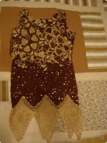 Часть платья для юбилея. фото 2