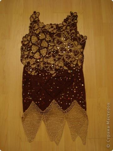 Часть платья для юбилея. фото 3