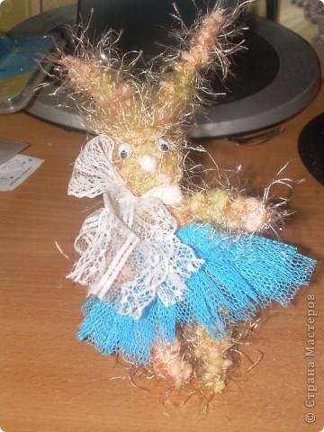 Зайчишка балеринка