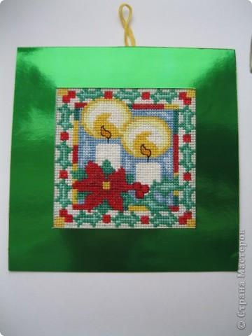Новогодние или , скорее, рождественские открытки фото 1