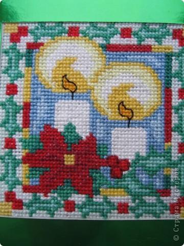 Новогодние или , скорее, рождественские открытки фото 2