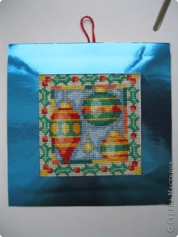 Новогодние или , скорее, рождественские открытки фото 3