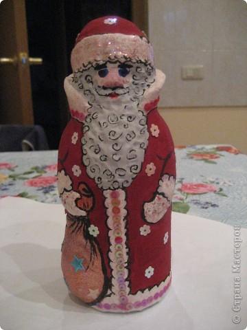 Ну, какой же Новый год без Деда Мороза? Вот я и решила провести урок лепки с детьми 4 класса.  фото 1