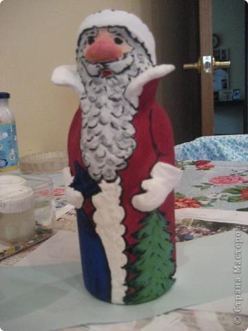 Ну, какой же Новый год без Деда Мороза? Вот я и решила провести урок лепки с детьми 4 класса.  фото 24