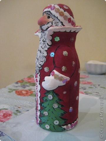 Ну, какой же Новый год без Деда Мороза? Вот я и решила провести урок лепки с детьми 4 класса.  фото 25