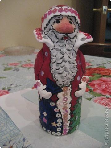 Ну, какой же Новый год без Деда Мороза? Вот я и решила провести урок лепки с детьми 4 класса.  фото 27