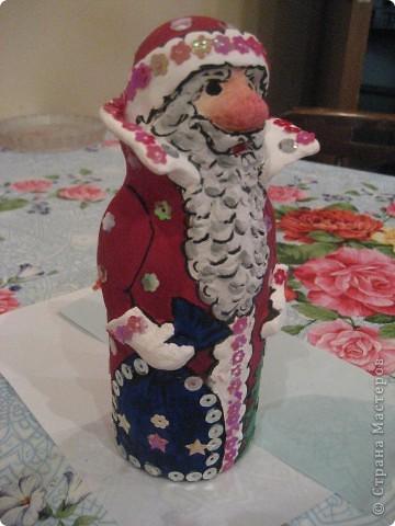 Ну, какой же Новый год без Деда Мороза? Вот я и решила провести урок лепки с детьми 4 класса.  фото 26