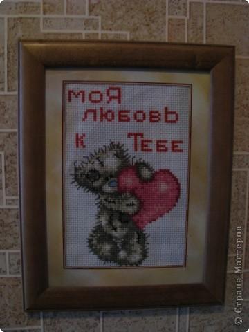 вышивка на красной канве фото 2