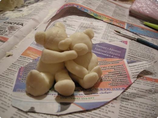 Смотрела на картинку мишек Тедди и подумала, как было бы здорово их слепить... фото 4