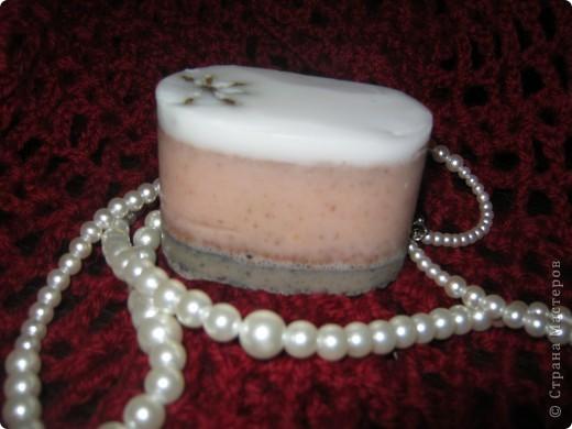 """мыло """"Шоколадное печенье с малиновым джемом"""" фото 11"""