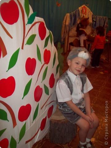 Яблоки на фланелеграфе